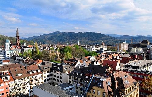 Blick auf Freiburg  (Copyright/Rechte:Universität Freiburg Urheber: Thomas Kunz)